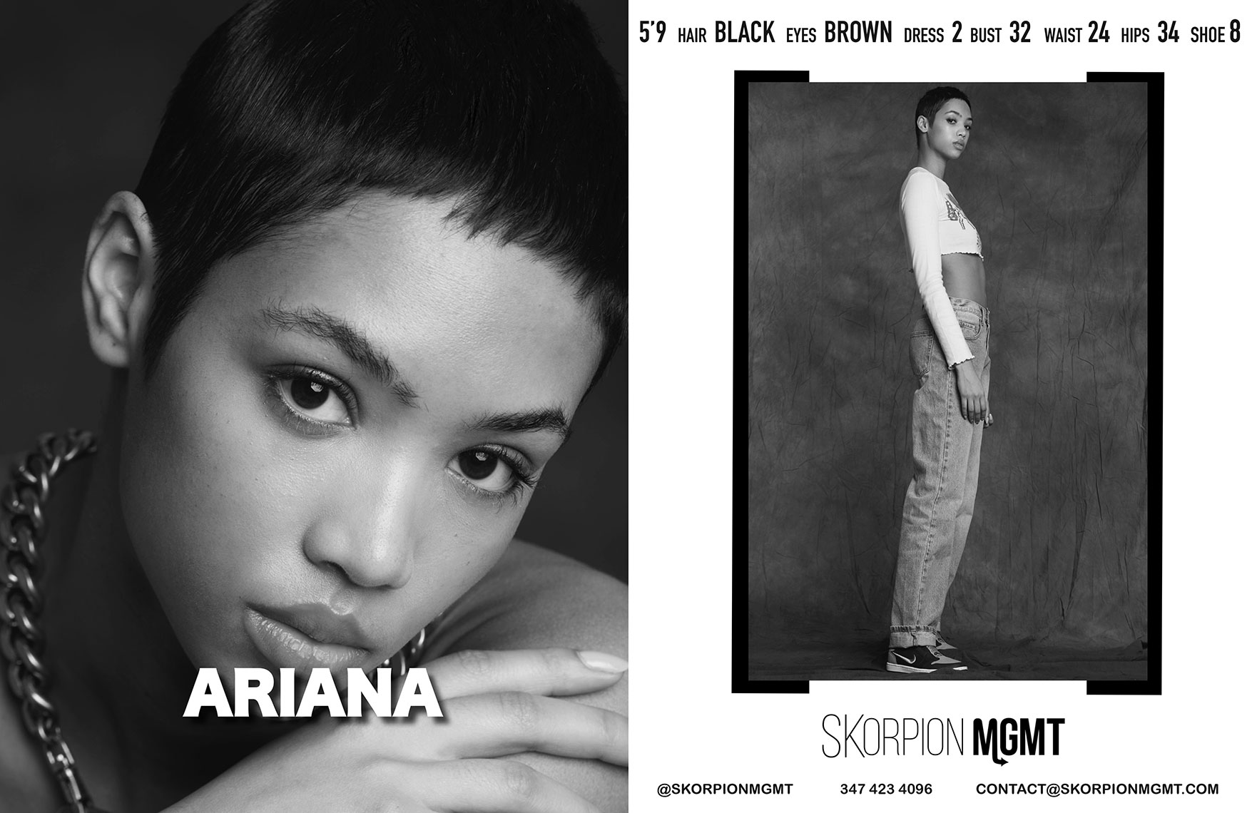 Ariana-Skorpion-Showcard-Model-New York Fashion Week-2020-Eric-Hason-Fashion-Photographer-NYC