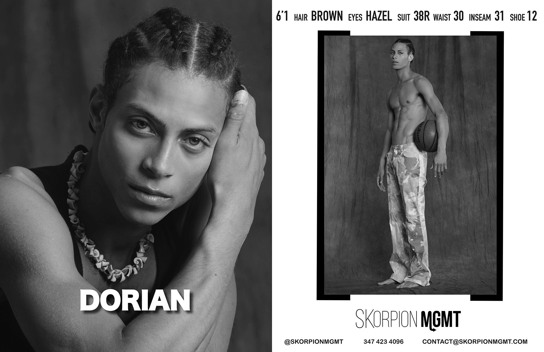 Dorian-Skorpion-Showcard-Model-NYFW-2020-Eric-Hason-Fashion-Photographer-NYC