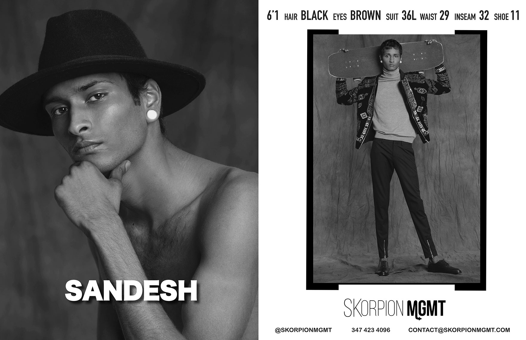 Sandesh-Skorpion-Showcard-Model-NYFW-2020-Eric-Hason-Fashion-Photographer-NYC